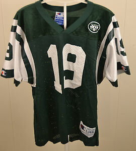 82926a13c2c Champion New York Jets #19 Keyshawn Johnson NFL Replica Jersey Youth ...