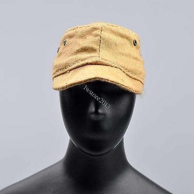 """1//6 Scale Hat WWII US Soldier Metal Helmet Model Cap For 12/"""" Scene Action Figure"""