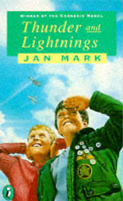 Thunder and Lightnings (Puffin Books) by Jan Mark, Acceptable Book (Paperback) F