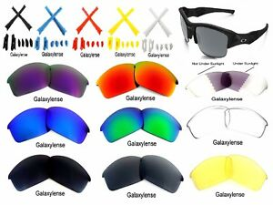 b9a4fed7fa Image is loading Galaxy-Replacement-Lenses-For-Oakley-Flak-Jacket -Sunglasses-
