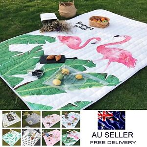200x140cm High Quality Washable Picnic Blanket Mat Outdoor Rug Camp