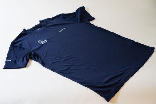 New Men/'s Craft Team Novo Nordisk Prime Technical Tee Shirt size Small Navy