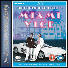 MIAMI VICE - THE COMPLETE COLLECTION FULLY RESTORED *BRAND NEW BLU-RAY BOXSET **