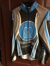 Sugoi Team Cannondale Factory Racing MonaVie Cycling Jersey Long Sleeve Large