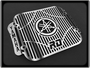Polished-Radiator-Cooler-Grill-for-YAMAHA-RD350-LC-RD-350