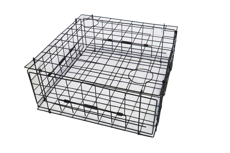 KUFA Heavy duty vinyl coated crab trap 28 x28 x12  (S70)