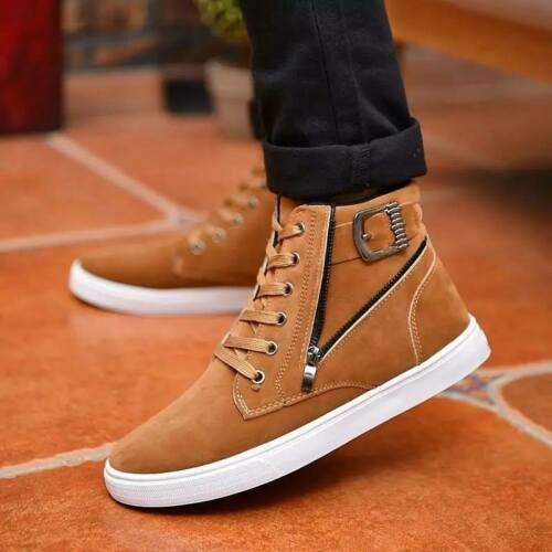 Chaussures Mode Hommes Casual Bottes Cuir Baskets Bottes D'Hiver nwOP0N8kX