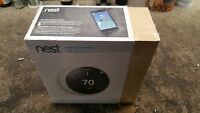 Nest 3rd Generation Learning Thermostat - White (t3017us)