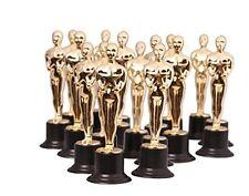 "Kangaroo Oscar Star Gold Award Trophy, 6"" Inch Trophies, Pack of 6, New"