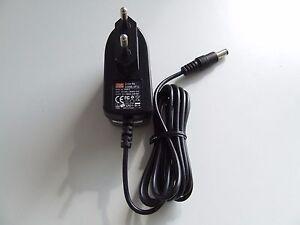 Steckernetztei<wbr/>l 9V/0,66A 6W Adapter GS06E-2P1J Hohlstecker 5,5/2,1mm neu