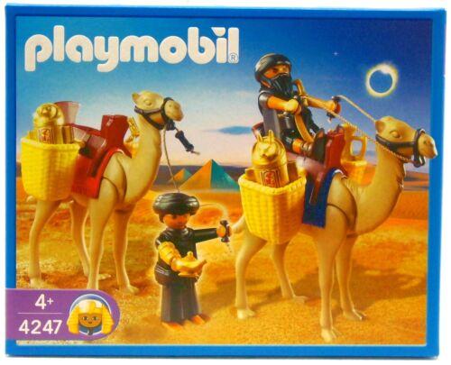 Arabes Bédouins pilleur de tombes Playmobil 4247 v`09 à chameaux égyptiens Romains neuf dans sa boîte NEUF