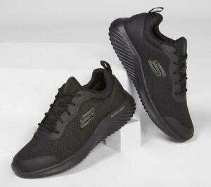 reptiles Aturdir principal  SKECHERS Men's Bounder - Voltis Running/Walking Trainers in Black   eBay