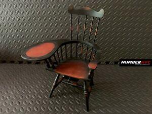 Tremendous Details About Vintage Dark Windsor Wood Desk Chair For Doll Hidden Jewelry Drawer 15 5 Antique Uwap Interior Chair Design Uwaporg