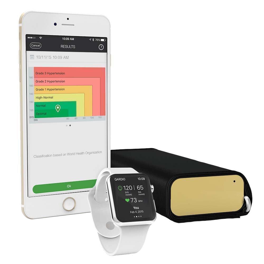 ✔ Qardio Arm Smart Blood Pressure Monitor One Größe Gold Blautdruckmessgerät ✔