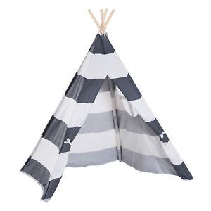 HOMCOM Tenda Indiana Teepee per Bambini Pieghevole Portatile per Casa e Interno