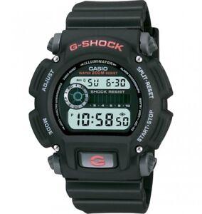 Casio-G-Shock-Men-039-s-Quartz-Chronograph-Black-Resin-Band-48-5mm-Watch-DW9052-1V