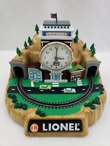 Lionel-Train-Analog-Clock-Train-Sounds-MISSING-TRAIN