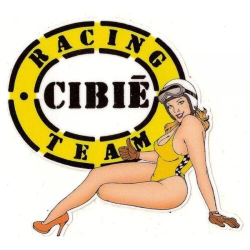 CIBIE left Pin Up gauche Sticker