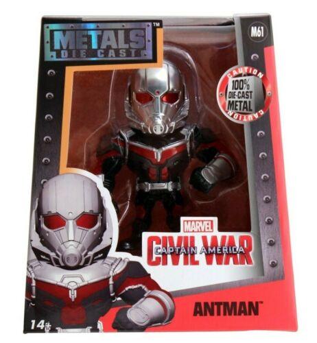 Jada metalli Marvel antman M61 4 pollici classico DIE-CAST FIGURA ant-man