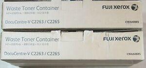 858-2x-TWO-FUJI-XEROX-CWAA0885-WASTE-TONER-BOXES-RRP-gt-200