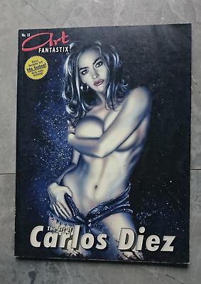 Art Fantastix Nr. 13 Carlos Diez - Biografie Erotik Tattoo Fantasy Comics Bestellungen Sind Willkommen.
