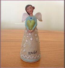 SEPTEMBER BIRTHDAY WISH ANGEL FIGURE BY KELLY RAE ROBERTS FREE U.S. SHIPPING