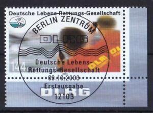 BRD 2003 gestempelt ESST Berlin Eckrand MiNr. 2367  Lebensrettungsgesellschaft
