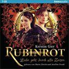 Rubinrot. Liebe geht durch alle Zeiten 01 von Kerstin Gier (2013)