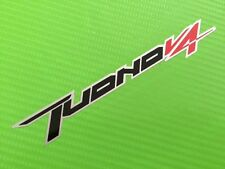 Tuono main fairing logo decal Sticker for Road Race or Track Bike #16