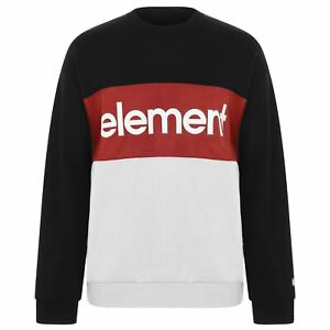 Mens-Element-Crew-Sweatshirt-Sweater-Long-Sleeve-New