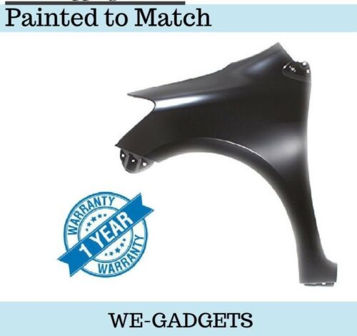 TO1240212 Toyota Yaris 07-12 Front Fender Driver Side LH Painted To Match