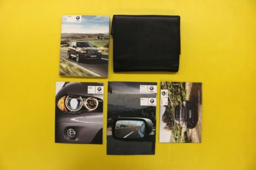 X5 11 2011 BMW Owners Owner/'s Manual Set W// Case