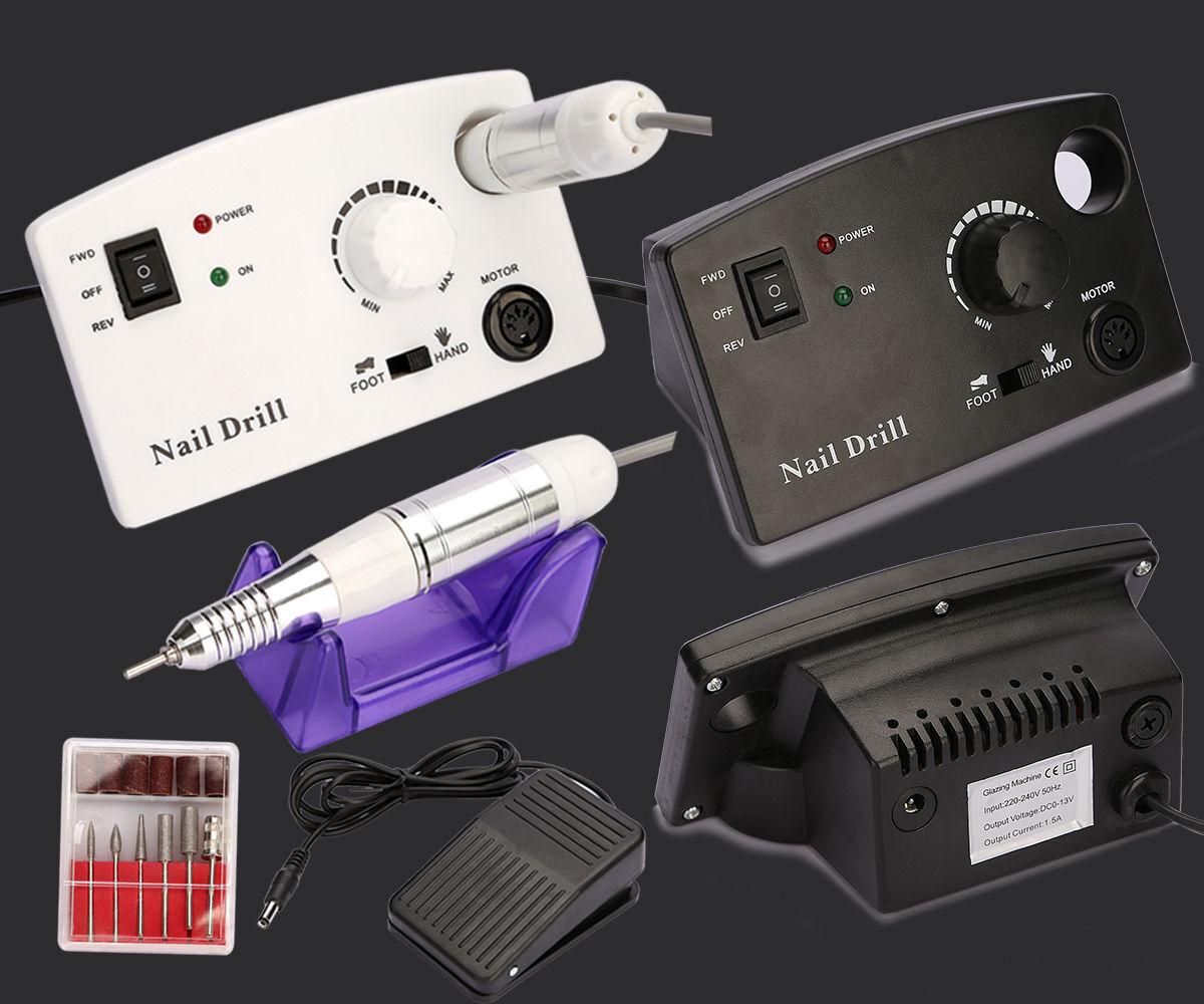 ELECTRIC NAIL MANICURE Art Drill File Pedicure Machine Acrylic Tool ...