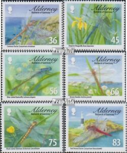 Knowledgeable United Kingdom complete.issue. Alderney 369-374 Unmounted Mint / Never Hinge Chills And Pains
