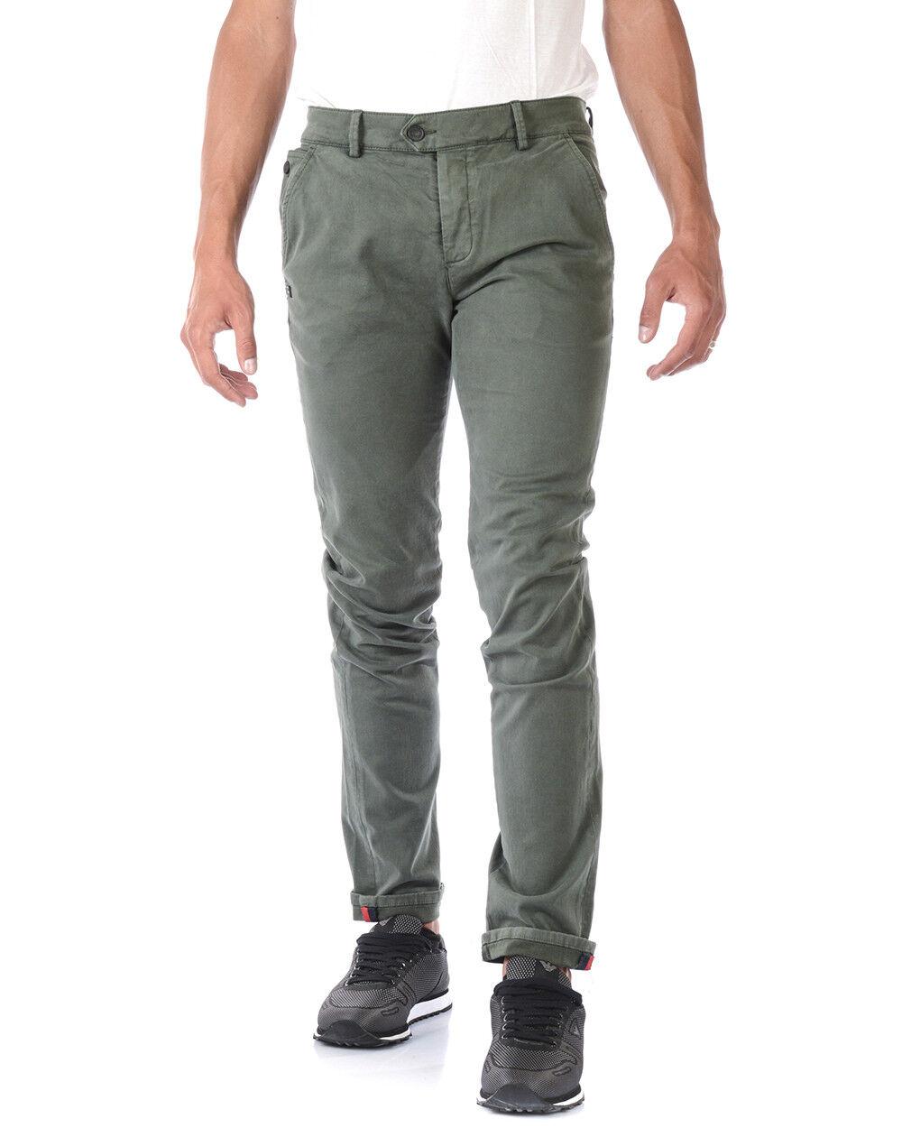 Jeans Daniele Alessandrini Jeans Cotone men green PJ5662L1003735 33