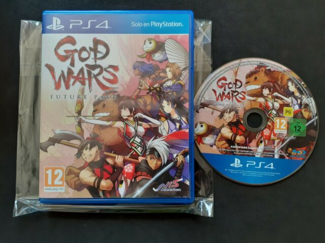 GOD WARS  FUTURE PAST PS4 PLAYSTATION - PAL ESPAÑA - COMPLETO