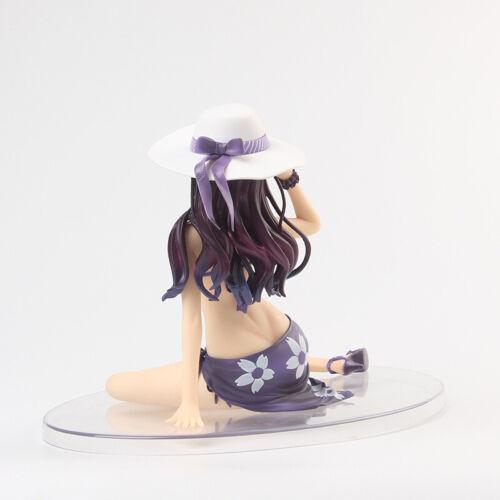 Anime Saenai Heroine No Sodatekata Kasumigaoka Utaha Eriri Swimsuit PVC Figure N