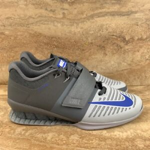 Nike Romaleos 3 Gray Blue Weightlifting