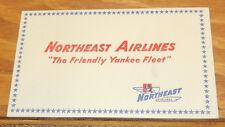Older NORTHEAST AIRLINES BLOTTER///THE FRIENDLY YANKEE FLEET