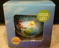 Super Mario Galaxy 2 Light-up Led Christmas Ornament Gamestop Exclusive