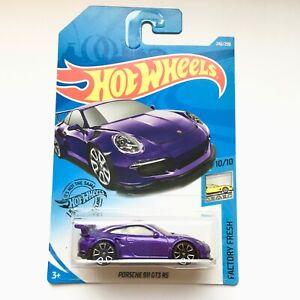Hot-Wheels-Porsche-911-GT3-RS-2019-Factory-Fresh-10-10-034-FYC47-034-Car-Brand-NEW