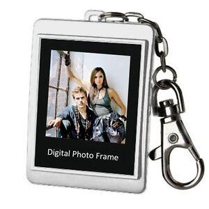 New-16M-Silver-1-5-034-LCD-Digital-Photo-Frame-Keychain-128-x-128-High-Resolution