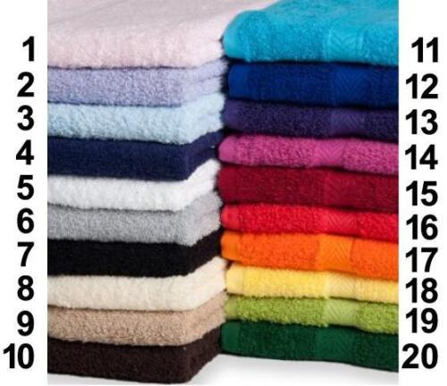 Luxury Handtuch 50 x 90 / Duschtuch Towel City inkl. Stick Text