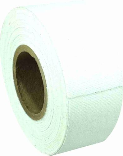 "1/"" x 8 YARDS MINI ROLL GAFFERS TAPE Single Roll WHITE"