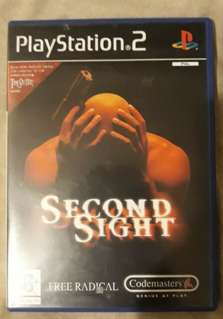 Second Sight for Sony PlayStation 2 PS2