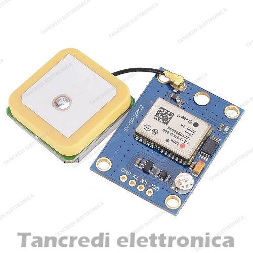 Modulo GPS UBLOX NEO-6M con antenna shield arduino raspberry drone quadricottero