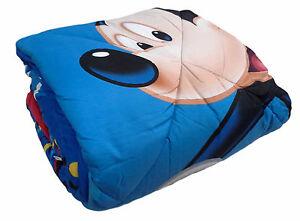 Trapunta, Piumone Invernale Microfibra. Disney, Mickey Mouse. Singolo, 1 Piazza. MatéRiaux De Haute Qualité