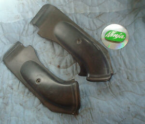 1995 ZX6R zx 6r OEM ram air intake covers fairing plastic panels ninja 95 96 97
