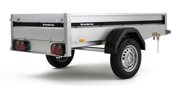 Ladtrailer, Brenderup 1203S - NYHED 2021 !, lastevne (kg):