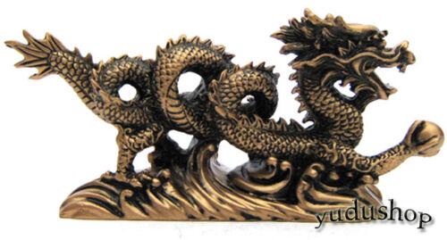 wunderschöne  Drache Figur  Fengshui Glücksbringer